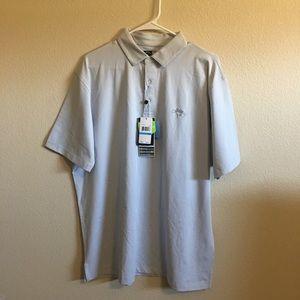Lt. Gray Large Callaway Opti•Dry Polo Golf Shirt